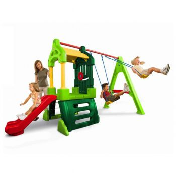 Little Tikes Clubhouse Swing Set Natural Color (1710930000)