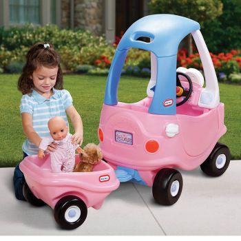 Little Tikes Princess Cozy Coupe Trailer Pack1 (621451E3X1)