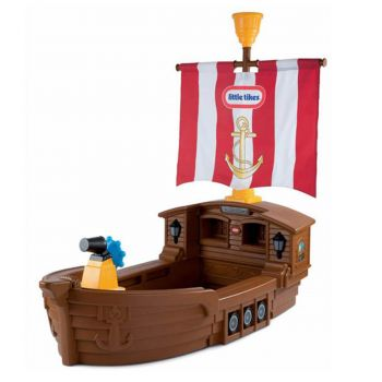 Little Tikes Pirate Ship Toddler Bed (625954E3)