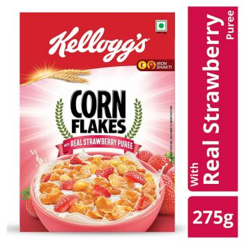Kellogg's Corn Flakes Strawberry 275gms 8901499008381