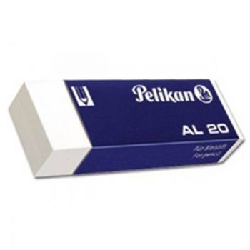 Pelikan Eraser Pack Of 20 (AL20 )