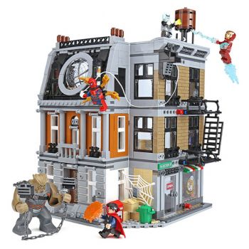 Lepin Avengers Infinity War Sanctum Sanctorum Showdown Building Blocks 07107 (PX-10342)