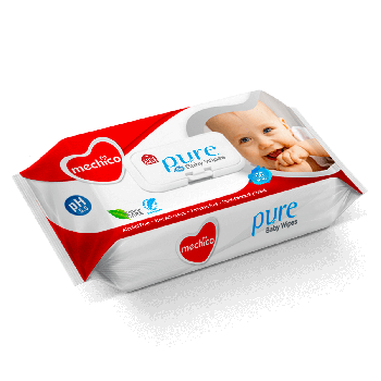 Mechico Baby Wipes 66Pcs (57103)