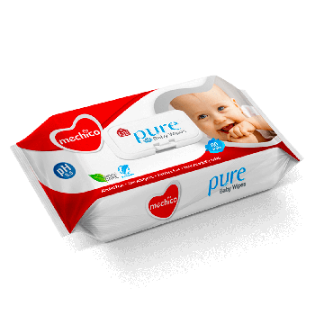 Mechico Baby Wipes 90Pcs (57104)