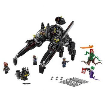 Lepin Batman The Scuttler vs Joker and Poison Ivy Building Blocks Set 7127 (PX-10450)