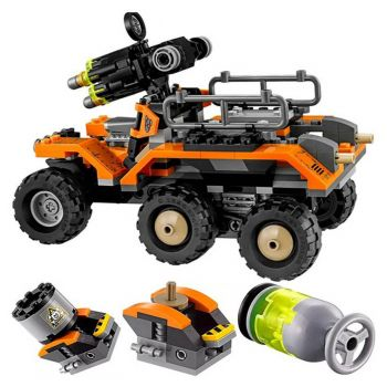 Decool Batman vs Bane Toxic Truck Attack Building Blocks 7130 (PX-10400)