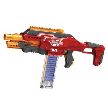 Blaze Storm Automatic Rapid Fire Soft Bullet Blaster Nerf Gun (PX-10344)