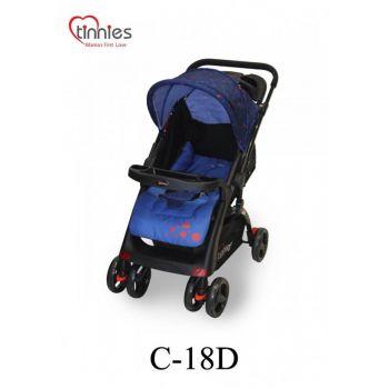 Tinnies Baby Stroller (C-18D) - Royal Blue