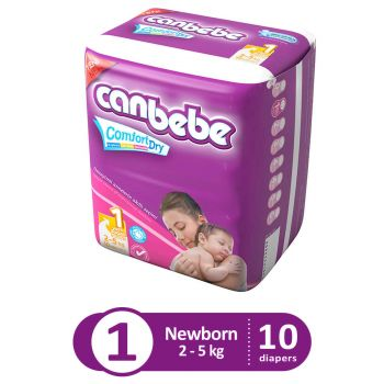 Canbebe Trial Pack For New Born 10Pcs