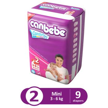 Canbebe Trial Pack For Mini 9Pcs