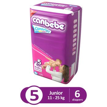 Canbebe Trial Pack For Junior 6Pcs