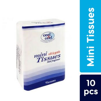 Cool & Cool Baby Compact Mini Tissues 10Pcs (M1637)