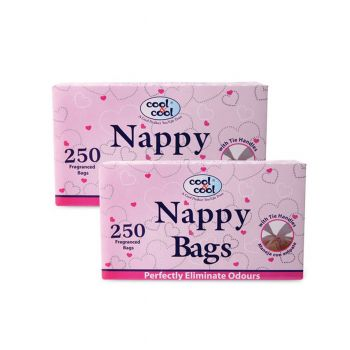 Cool & Cool Baby Nappy Bags 250Pcs (N071)