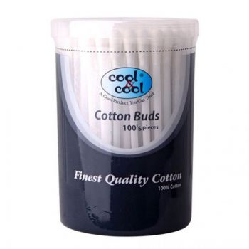 Cool & Cool Cotton Buds 100Pcs (C3866)
