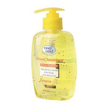 Cool & Cool Hand Sanitizer Gel Lemon 250ML (H547)