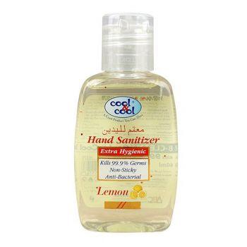 Cool & Cool Hand Sanitizer Gel Lemon 60ML (H370)