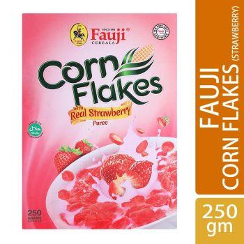 Fauji Corn Flakes Strawberry 250gms