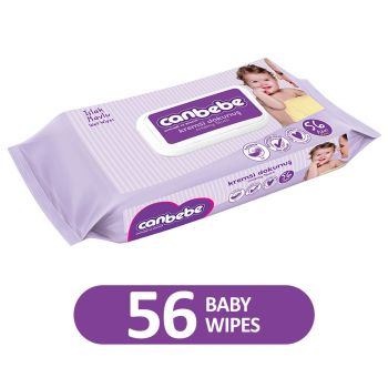 Canbebe Wet Wipes Creamy Touch / Extra Soft 56Pcs