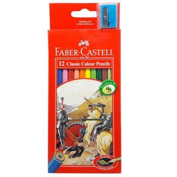 Faber Castell Classic Colour Pencil 12Pcs (115852)