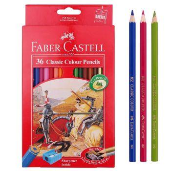 Faber Castell Classic Colour Pencil 36Pcs (115856)