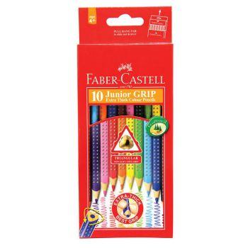 Faber Castell Junior Grip Colour Pencil 10Pcs (116260)