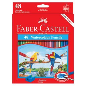 Faber Castell Water Soluble Colour Pencil 48Pcs (114468)