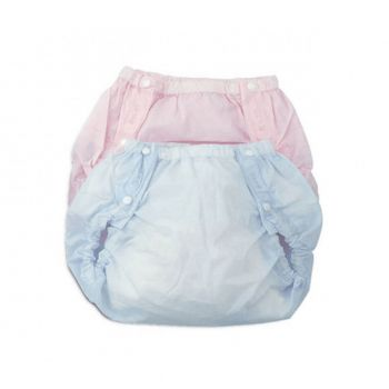 Farlin Baby Waterproof Pants Medium Pink (BF-532)