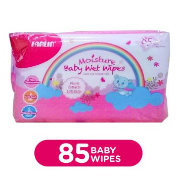 Farlin Baby Wipes 85Pcs Anti-Rash (DT-006A)