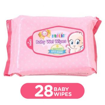Farlin Wet Wipes For Hand & Mouth (DT-009) 28Pcs