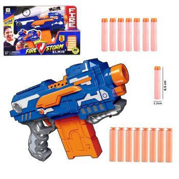 Fire Storm 16 Soft Dart Blaster Nerf Clip Gun Battery Operated (PX-10519)