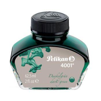Pelikan Fountain Pen Ink 62.5ML Green (4001)