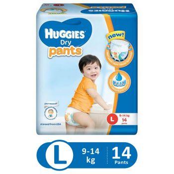 Huggies Dry Pants Economy (Large - 14Pcs)