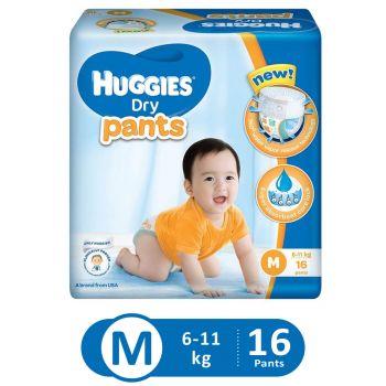 Huggies Dry Pants Economy (Medium - 16Pcs)