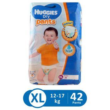 Huggies Dry Pants Super Jumbo (XL - 42Pcs)