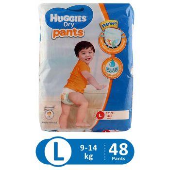 Huggies Dry Pants Super Jumbo (Large - 48Pcs)