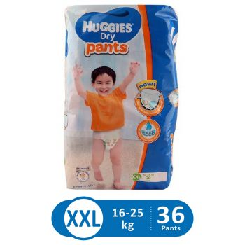 Huggies Dry Pants Super Jumbo (XXL - 36Pcs)