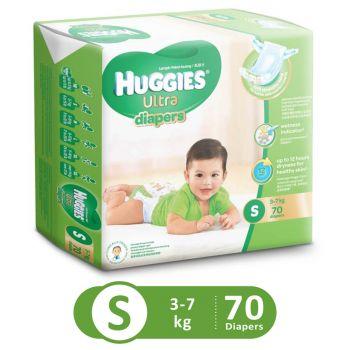 Huggies Ultra Diapers Super Jumbo (Small - 70Pcs)