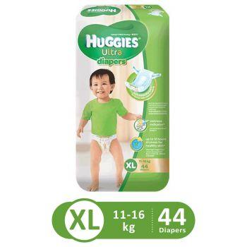 Huggies Ultra Diapers Super Jumbo (XLarge - 44Pcs)