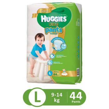 Huggies Ultra Pants Super Jumbo For Boys (Large - 44Pcs)