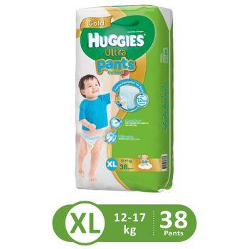 Huggies Ultra Pants Super Jumbo For Boys (XL - 38Pcs)