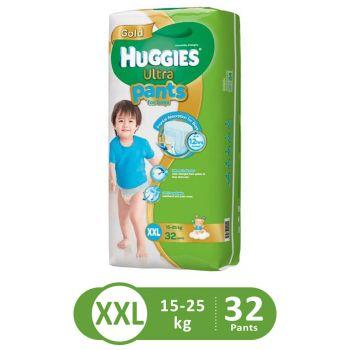 Huggies Ultra Pants Super Jumbo For Boys (XXL - 32Pcs)