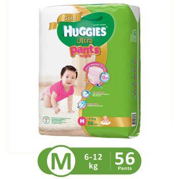 Huggies Ultra Pants Super Jumbo For Girls (Medium - 56Pcs)