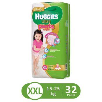 Huggies Ultra Pants Super Jumbo For Girls (XXL - 32Pcs)
