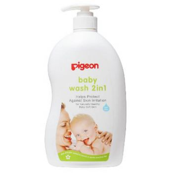 Pigeon Baby Wash Sakura 500ML (I638)