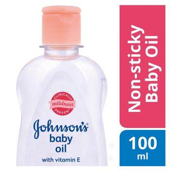 Johnson's Baby Oil Regular 100ML