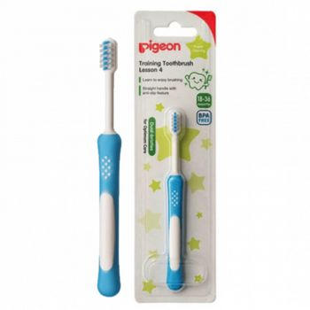 Pigeon Training Tooth Brush Lesson 4 Blue (K832)