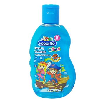 Kodomo Blue Candy Head To Toe Wash 200ML (1220552)