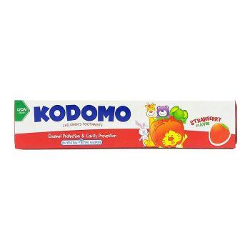 Kodomo Strawberry Toothpaste Lion 40gms (1980032)