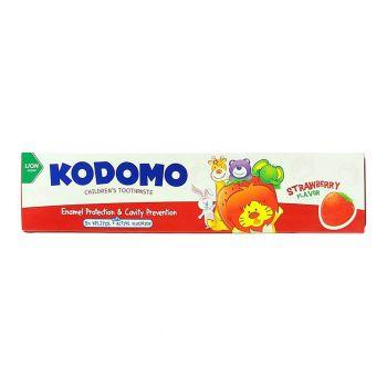 Kodomo Strawbery Toothpaste Lion 80gms (1980033)