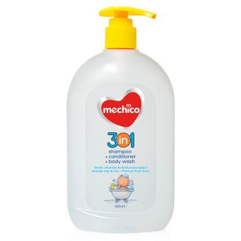 Mechico Baby Shower Shampoo 3in1 500ML (58108)